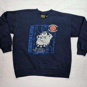 Vintage Georgetown Sweatshirt XL USA Made